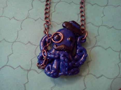 Gentleman Octopus Necklace