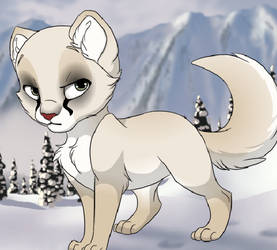 Mirage - cat form by RAYLGUN-93