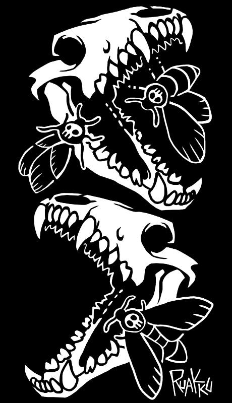 Death's heads by ruakku