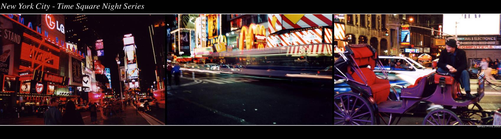 NYC - Time Square Night Series