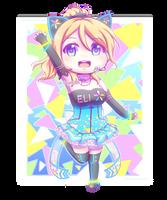 Eli Ayase (LLSIF Cyber) by GaliCry