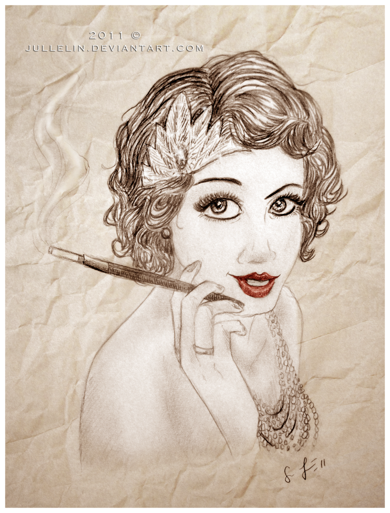 Im just an old fashioned girl by jullelin on deviantart
