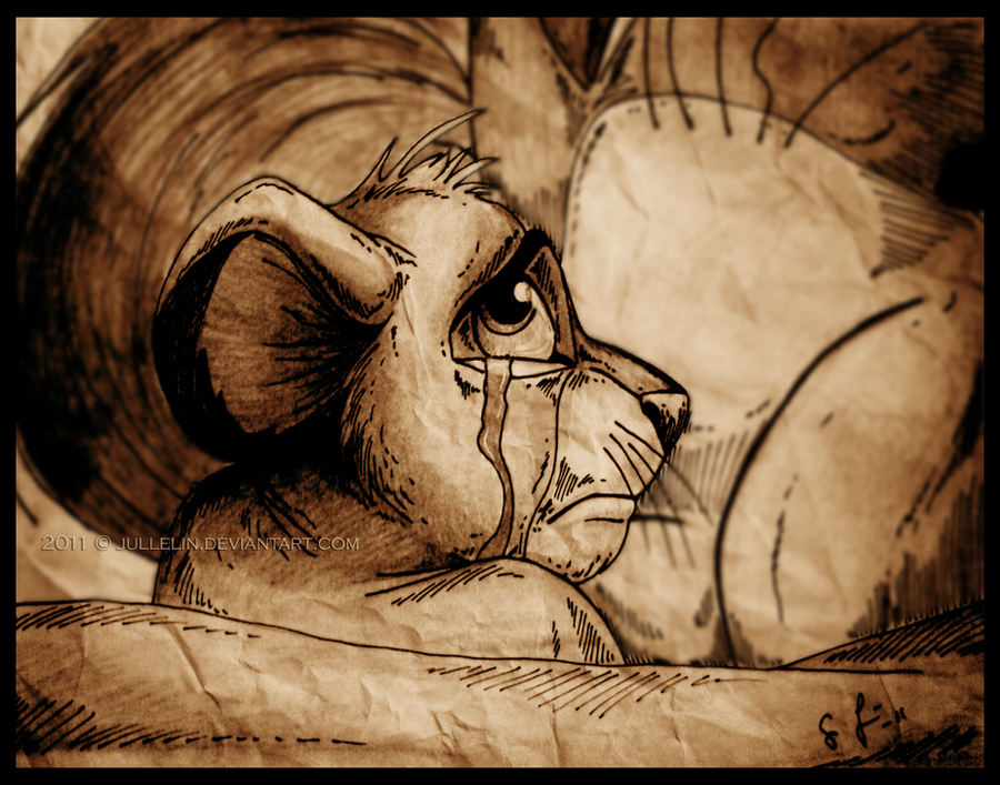 Simba, what have you done? by Jullelin