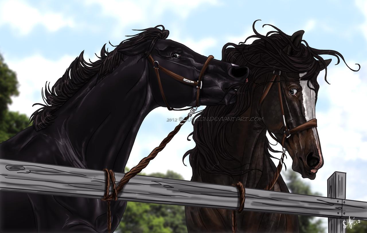Deviantarts Robot Horse: Wrong Horse To Nibble By Jullelin On DeviantArt
