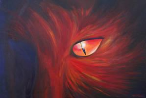 Cinnamon - Acrylic painting by machine-guts