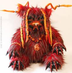 Ragnarok the Volcano Lion