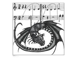 Dragon Chains Waltz tech pens