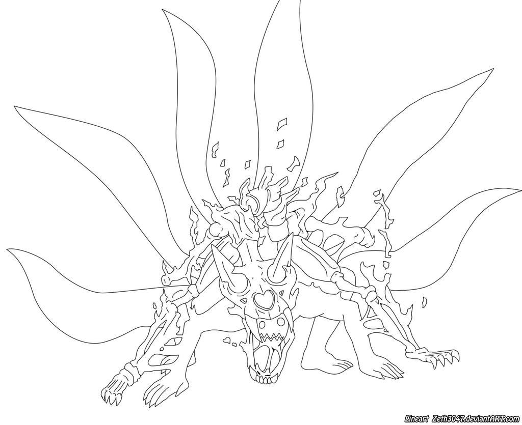 Naruto Lineart : Lineart naruto by zeth on deviantart