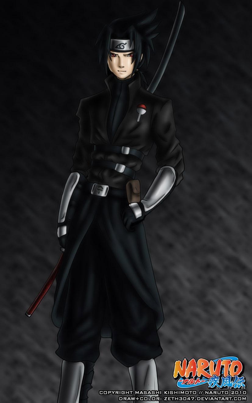 uchiha Sasuke V2 by zeth3047