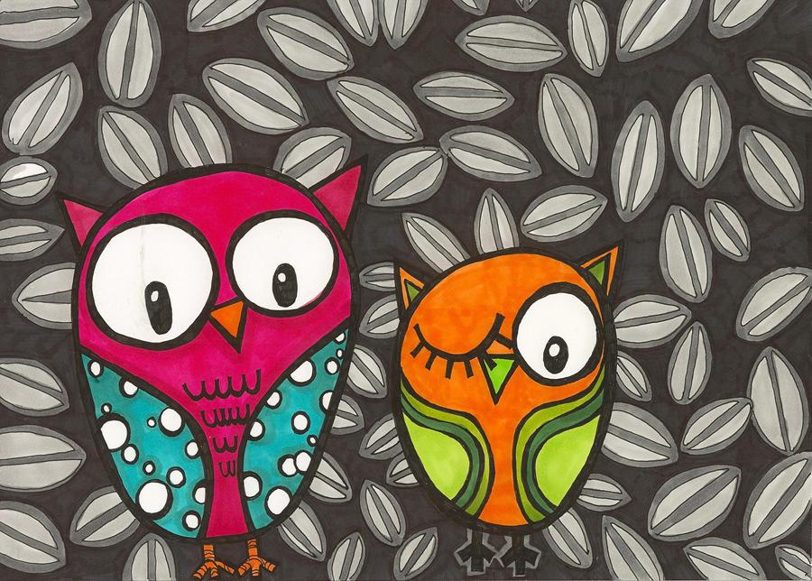 owls by designgirl2