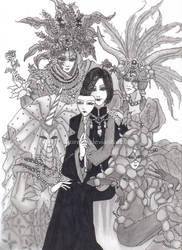 Masquerade by kuregu