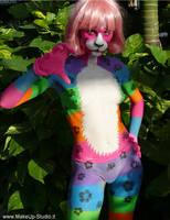 Multicolor Cat by vmax74