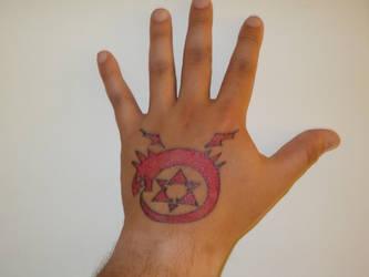 Greed Tattoo Fma