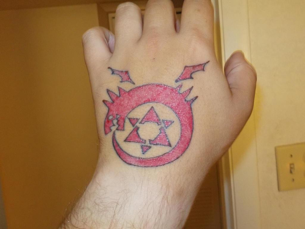 Fullmetal Alchemist Homunculus Greeds Tattoo 2 By Asgreedyasapig On