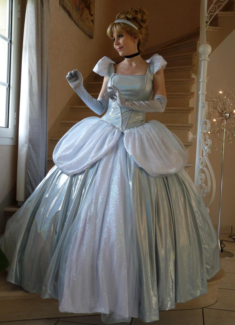 Cinderella pink dress costume