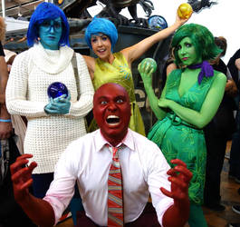 Inside out Cosplay