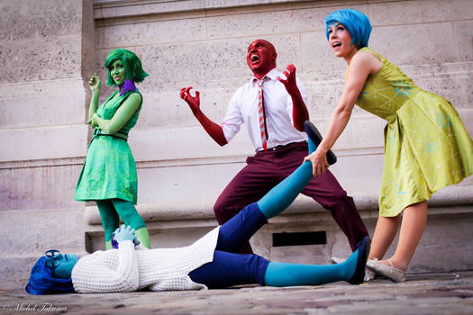 Inside Out Vice Versa Pixar cosplay