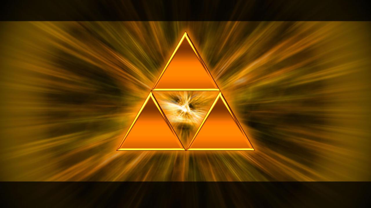 Golden Triforce by john1315