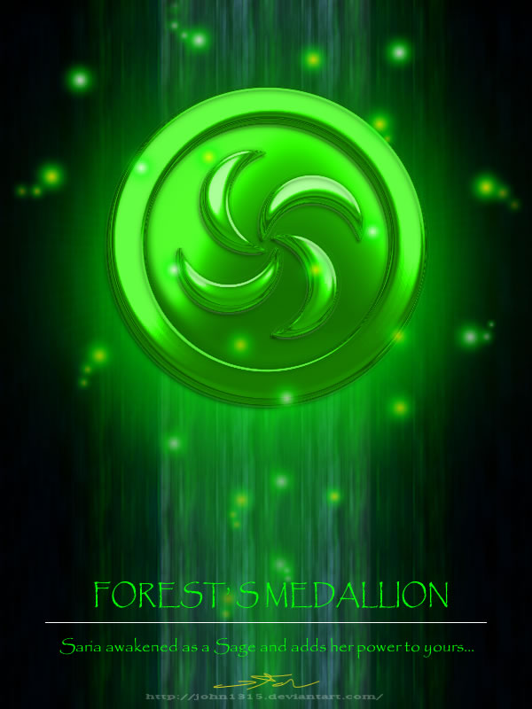 Forest Medallion by john1315
