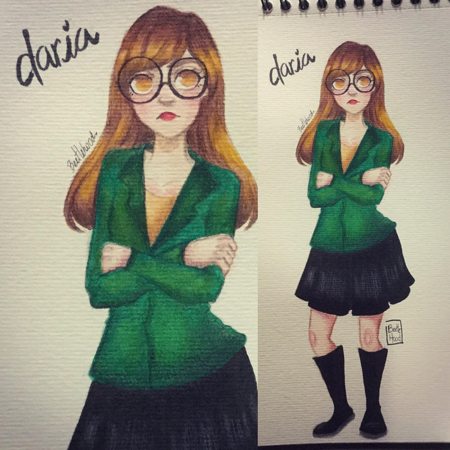 Daria- watercolor by Beetlehood