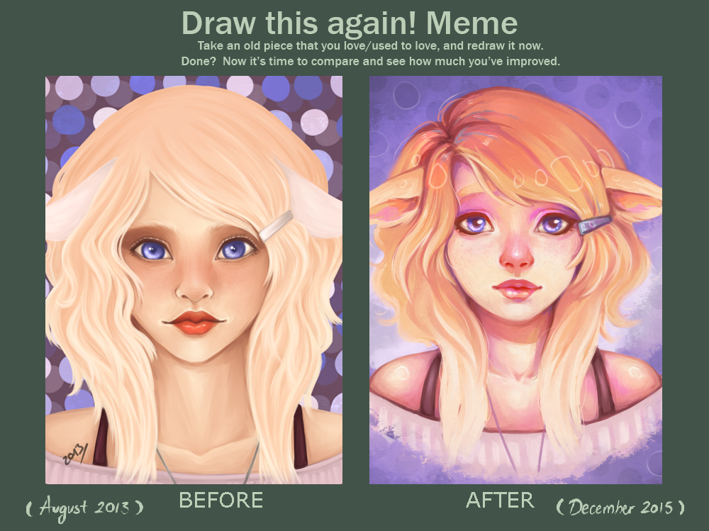 Before And After: Yvette by nikutsuki