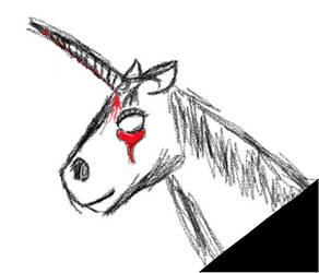 Murder unicorn by KittKatt19