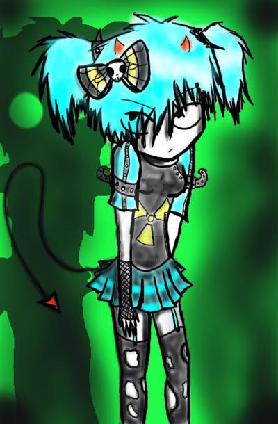Cybergirl shadow by Pixilatedinsanity