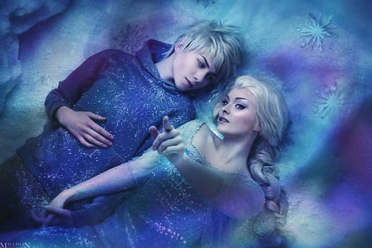 Elsa and Jack Frost (Frozen) #1