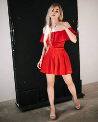 In Red