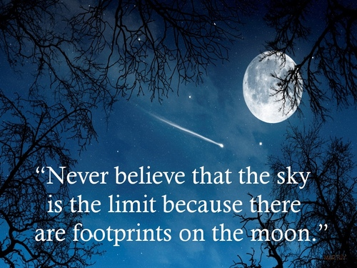The Sky Isnt The Limit By Lifes What U Make It On Deviantart