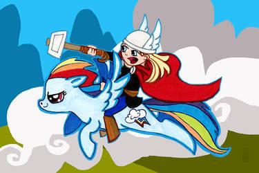 For Asgard by dancingheron