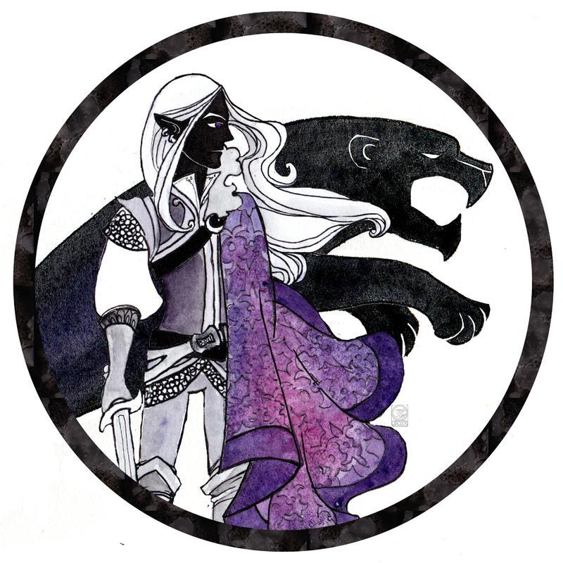 Violet Twilight by dancingheron