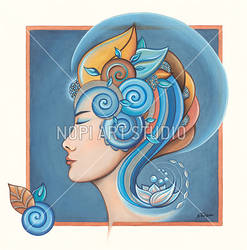 Greek Godess by eikasma