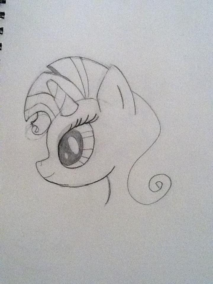 rarity sketch by DoctorWhovian69