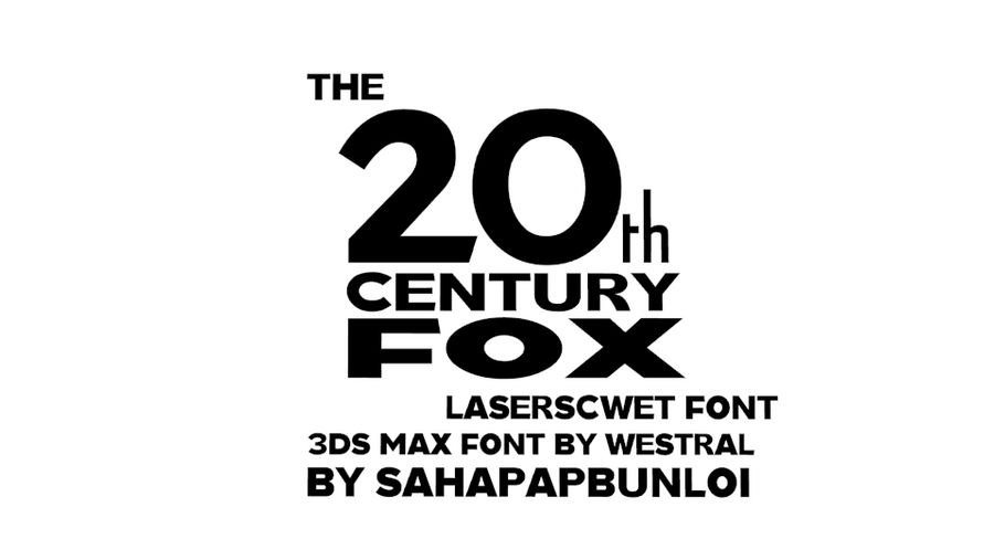 Deviantart Century Fox Deviantart 20Th Font – Doe Software