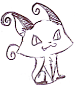Heartlessesque Feline by FyreLilly