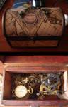 Steampunk Clock Box