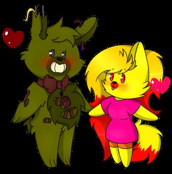 Commission: :SpringCandy?: by XPurplePieX