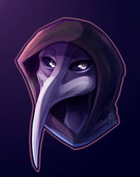 SCP-049: :Plague Doctor: by SoundwavePie