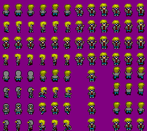 Nerd Sprites by DemonTomat0