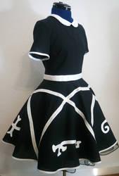 devil's trap dress