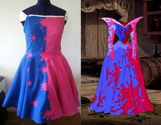 Aurora - Make it pink - Make it blue dress