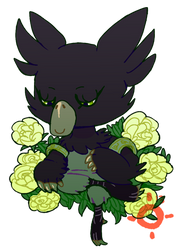 Poemon Among the White Roses by Strontium-Chloride