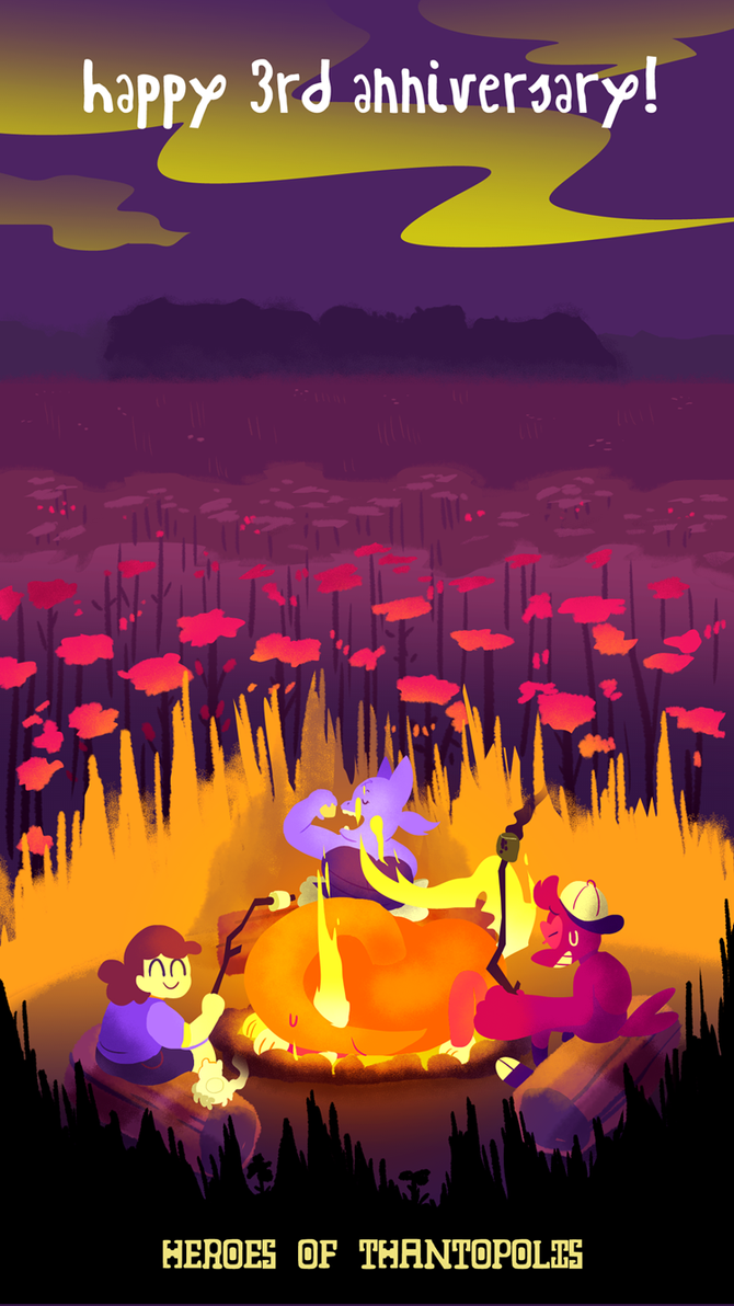 Savannah Campfire by Strontium-Chloride