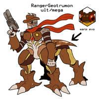Rangergeotrumon for DigifakeWeek by Strontium-Chloride
