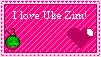 Uke Zim stamp by Amystarzel