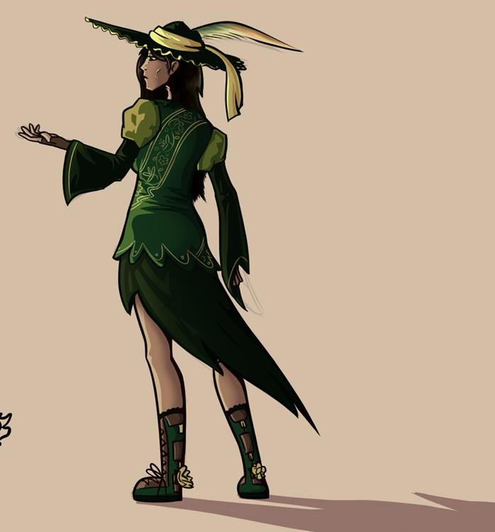 Character in Seminar by RealBigNUKE