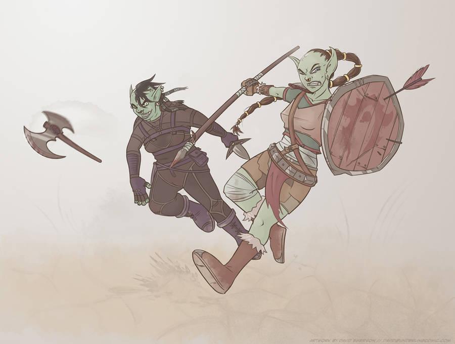 Orcs orcs orcs by RealBigNUKE