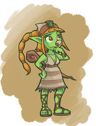 Cthia the Goblin Shaman