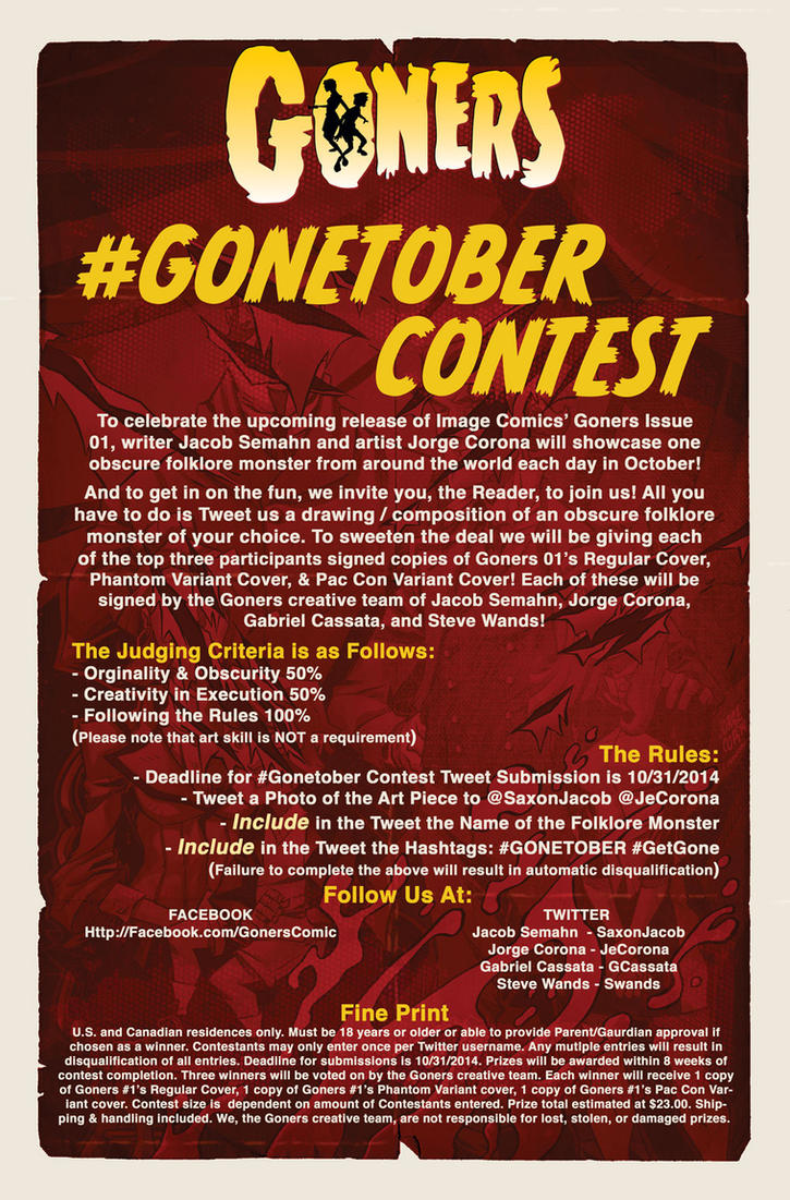 #GONETOBER Contest by jorgeCOR